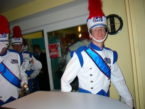 Jason Filipchuk, Optimists Alumni dressed for Lotto 6/49 promo (2004)