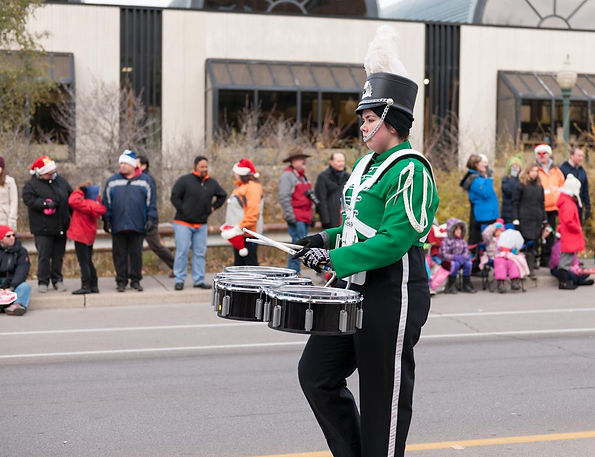 Courtney Harder, Optimists Alumni (Oakville Santa Parade, 2014)