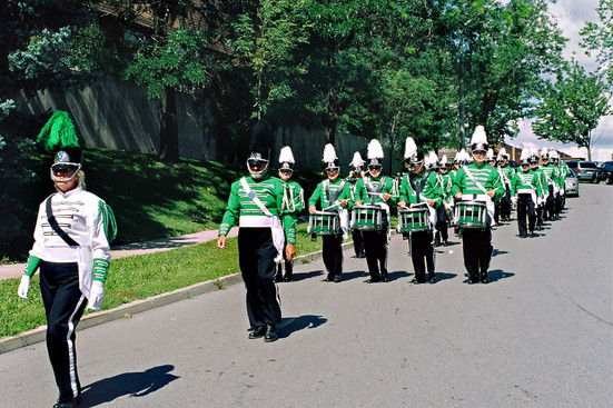 Marching to Cawthra Gardens (2008)