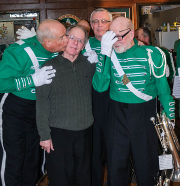 Mike, George, Brian & Barry (Wearing of the Green, 2013)