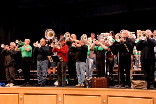 Optimists Alumni Rehearsing (Simcoe, 2011)