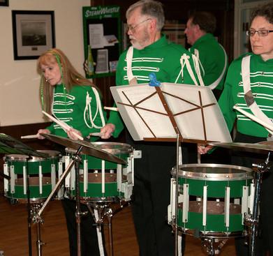 Cindy, Ken & Judy, Optimists Alumni (Wearing of the Green, 2013)