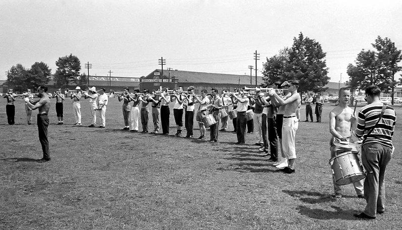 Toronto Optimists rehearsing (Waterfront, 1960)