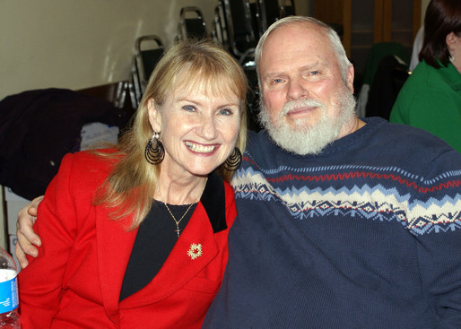 Rick and Cindy Tracey, Belated Christmas party (Jan. 2008)
