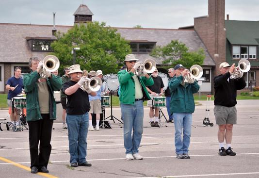 Optimists Alumni rehearsing (Seneca College, 2010)