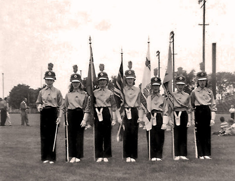 Sarnia Lionettes Guard (June, 1959)