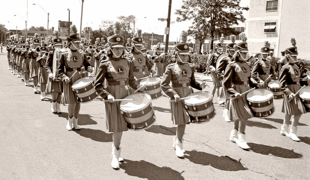 Sarnia Lionettes (Emancipation Day, Windsor, 1960)