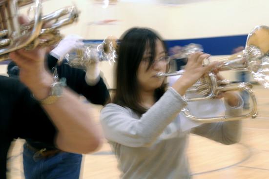 Rehearsing at Villanova (2009)