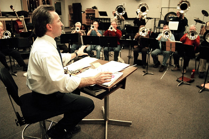 Rehearsing at St Mikes with Jamie (2007)