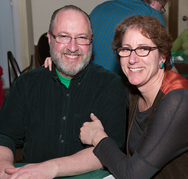 Roger and Sally Rafson (Wearing of the Green, 2013)