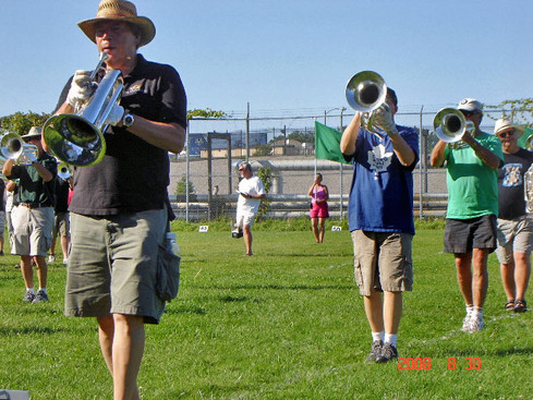 Rehearsing in Rochester for DCA (2008)