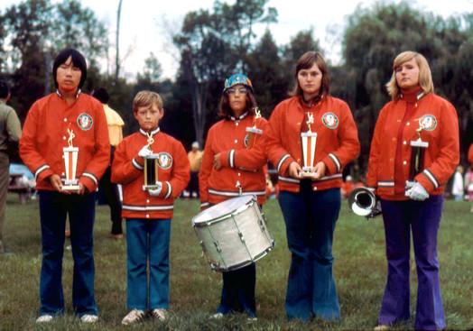 Carol Munro with the Lancers