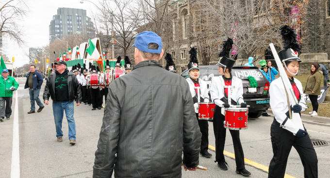 Barry Woods and Northstar (Toronto St Patrick's Day Parade, 2017)