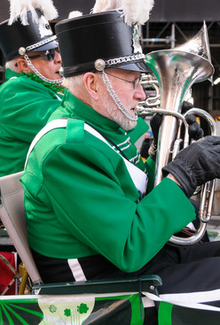 Mike Lang and Barry Bell, Optimists Alumni  (Toronto St Patrick's Day Parade, 2017)