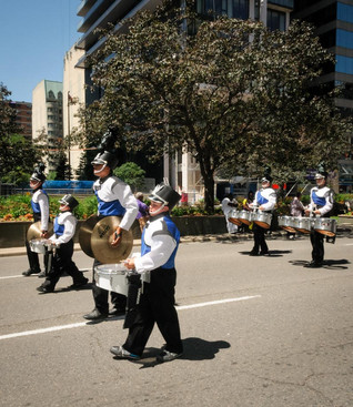 Sudbury Blue Saints (Lions International Parade, Toronto, 2014)