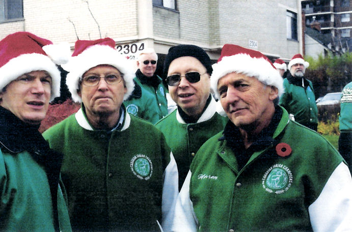 Jason, Eric, Toby & Warren (Etobicoke Lakeshore Santa Claus Parade, 2006)