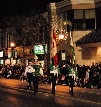 Optimists Alumni (Brampton Santa parade, 2009)