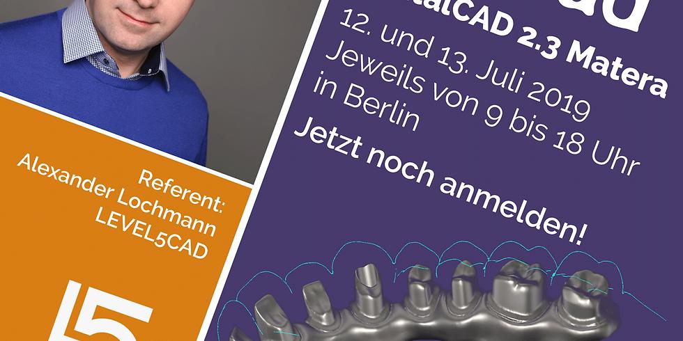 exocad DentalCAD 2.3 Matera für Einsteiger und Fortgeschrittene (1)