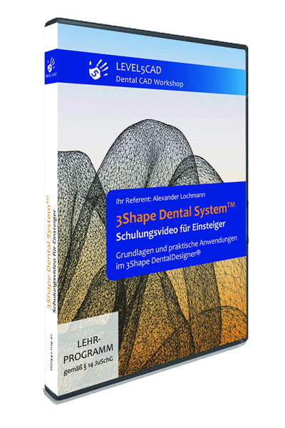 DVD Edition: 3Shape Dental Designer 2016™
