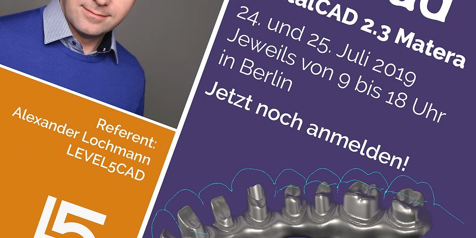 exocad DentalCAD 2.3 Matera für Einsteiger und Fortgeschrittene