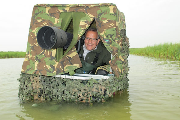 Wad- en Kustvogels, Belly boat.