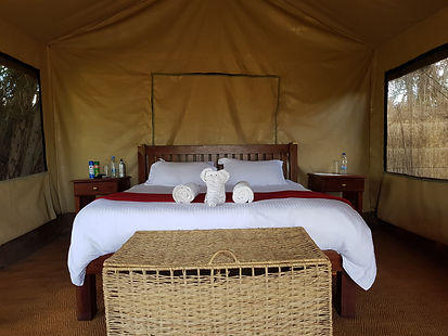 Kafue NP, Mukabi plains camp.