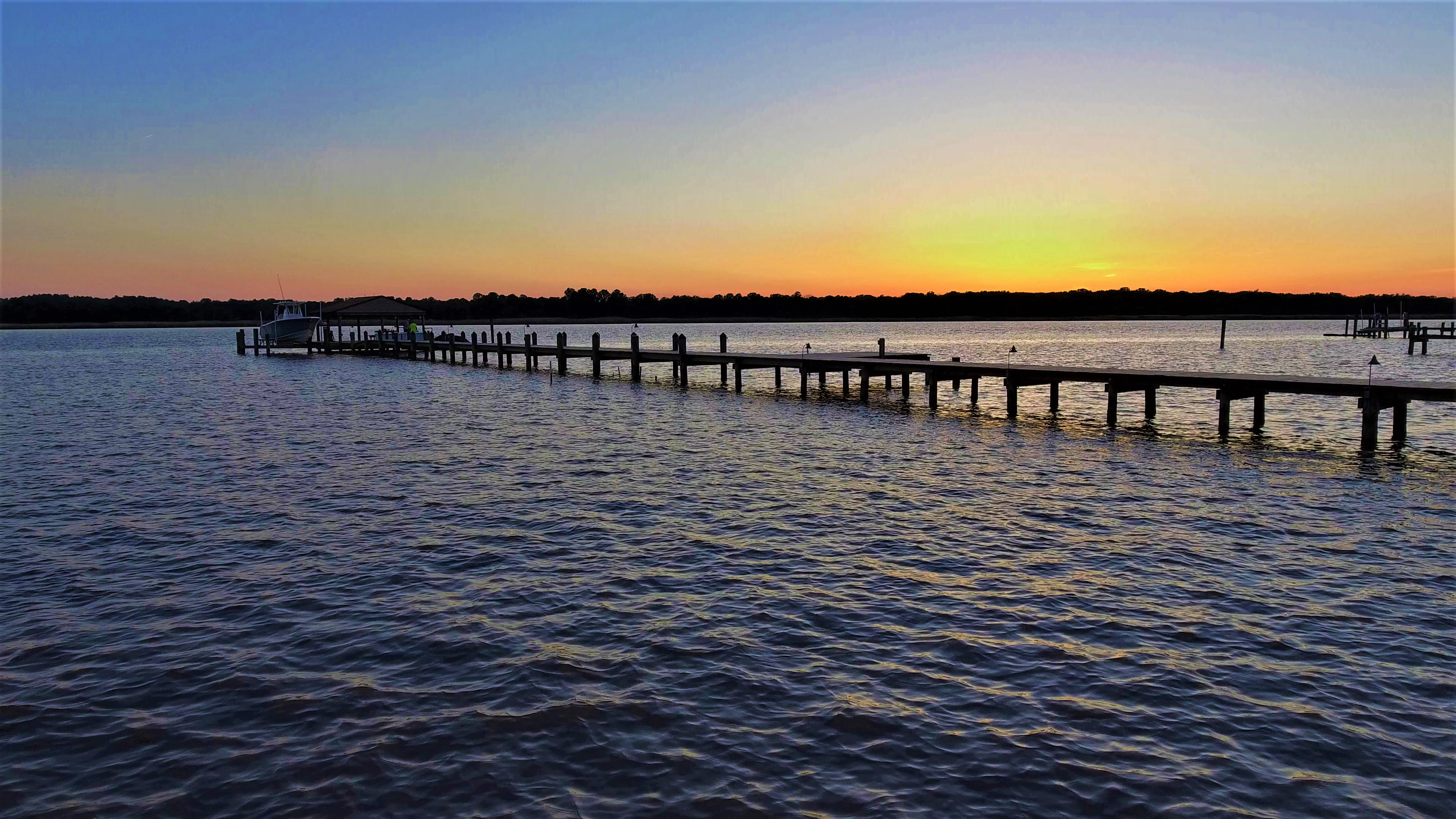Huntingtown Sunset Drone
