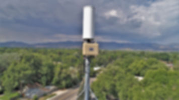Cell tower inspection with a drone