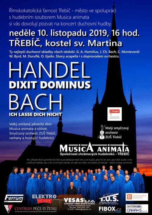 Musica animata: HANDEL, BACH, kostel sv. Martina v Třebíči