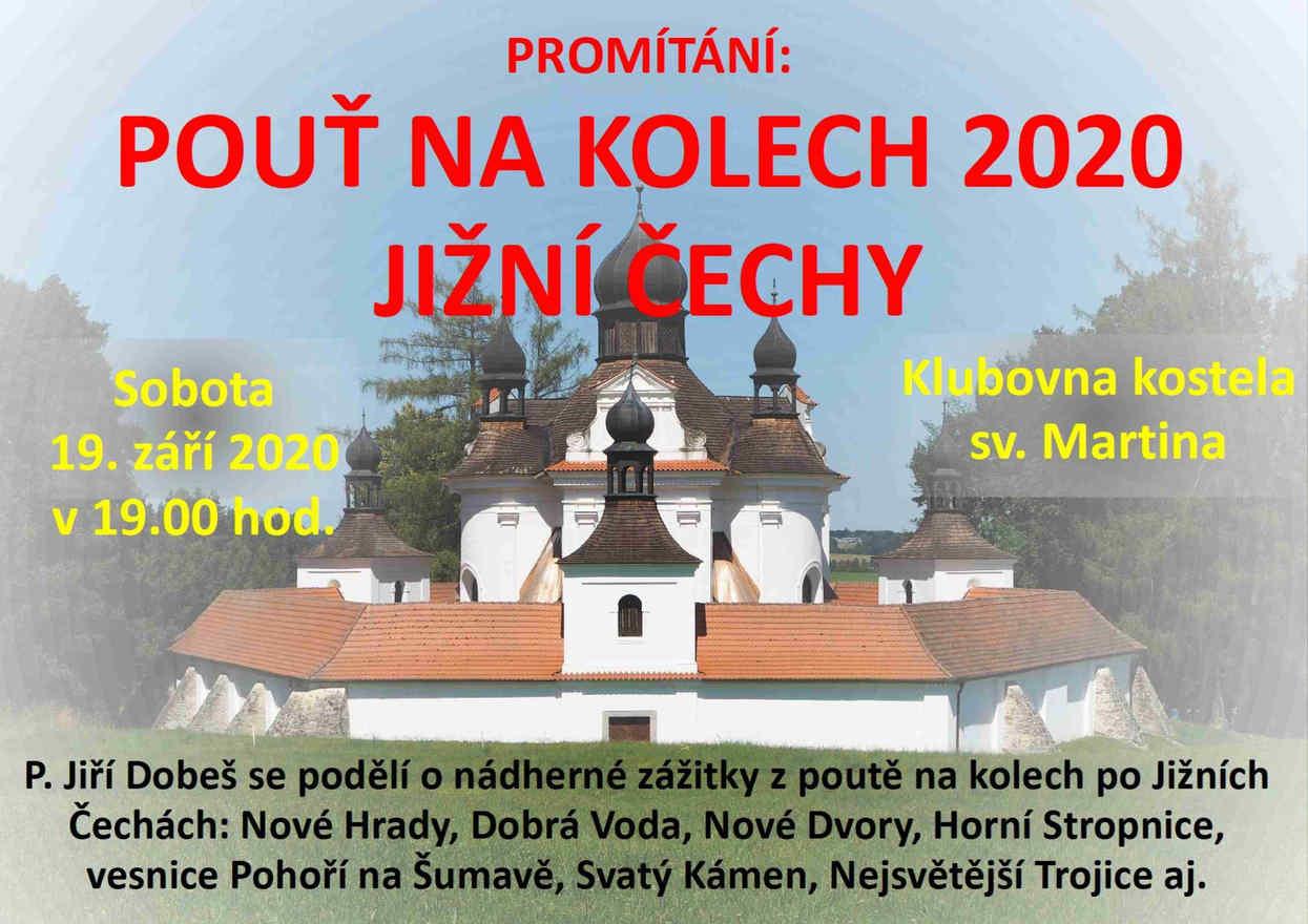 Promítání: Pouť po Jižních Čechách na kolech.