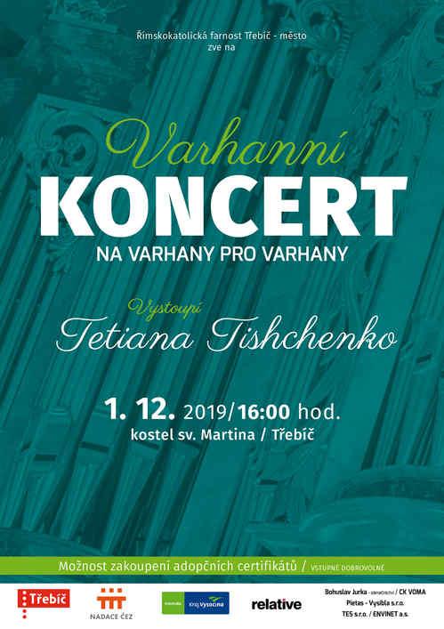 Koncert:  NA VARHANY PRO VARHANY