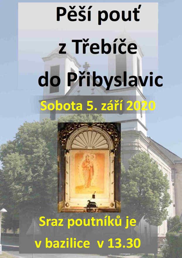 Tradiční třebíčská pěší pouť do Přibyslavic