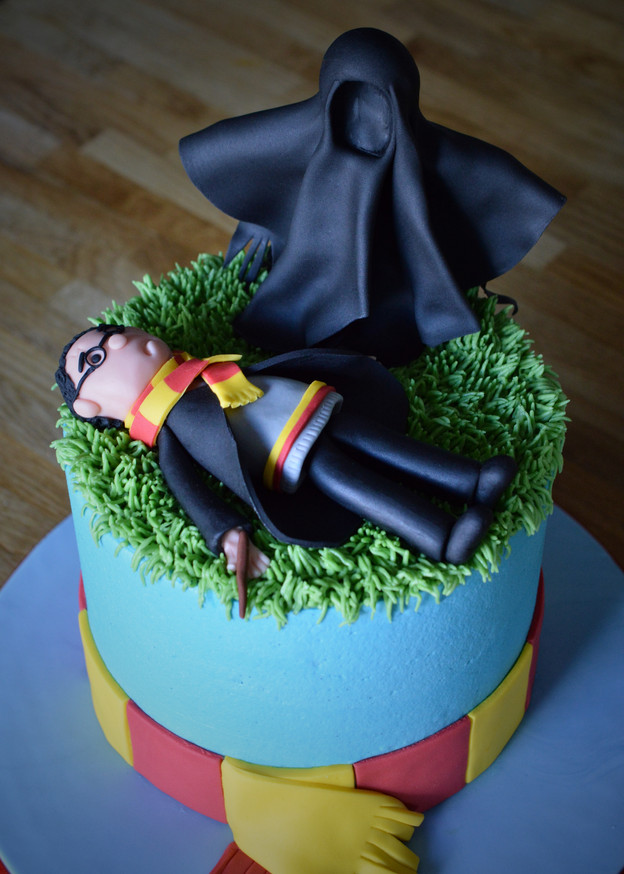 Harry Potter Dementor Cake | Kingfisher Bakery, Wiltshire, UK