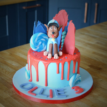 Paw Patrol Birthday Cake | Kingfisher Bakery, Wiltshire, UK