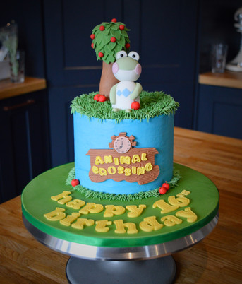Animal Crossing Birthday Cake | Kingfisher Bakery, Wiltshire, UK