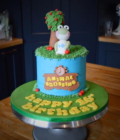 Animal Crossing Birthday Cake | Kingfisher Bakery, Wiltshire, UK