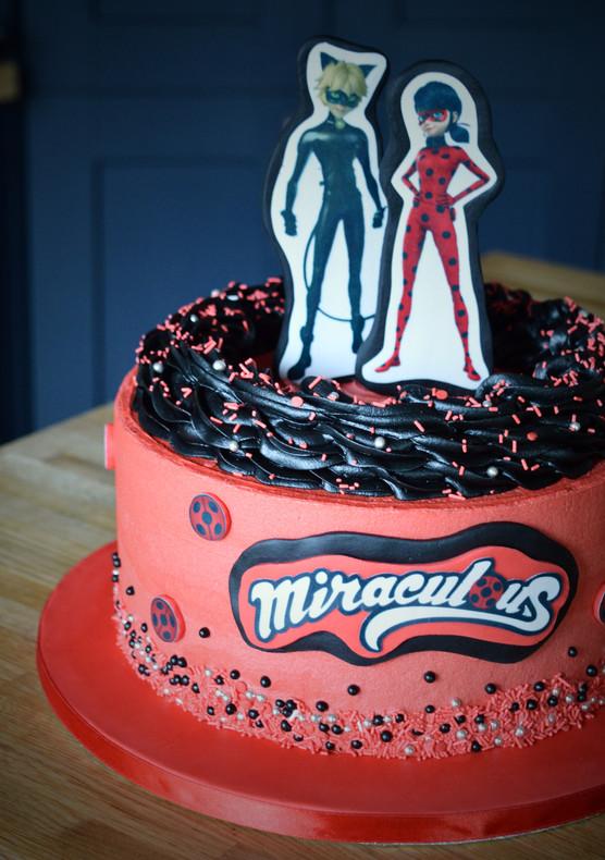 Miraculous Superhero Birthday Cake | Kingfisher Bakery, Wiltshire, UK