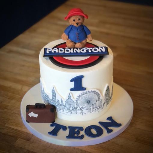 Paddington Birthday Cake | Kingfisher Bakery, Wiltshire, UK