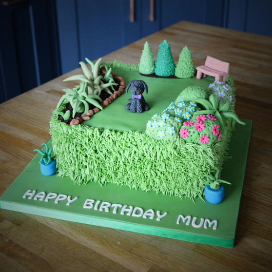 Garden Cake | Kingfisher Bakery, Wiltshire, UK