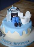 Plumber Cake | Kingfisher Bakery, Wiltshire, UK