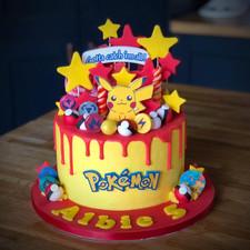 Pokemon/Pikachu Birthday Cake | Kingfisher Bakery, Wiltshire, UK