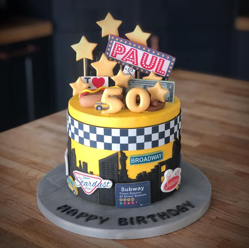 New York Taxi Cake | Kingfisher Bakery, Wiltshire, UK