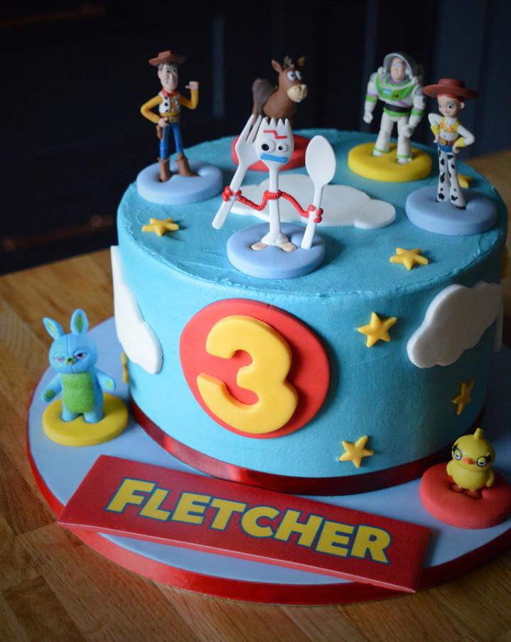 Toy Story Birthday Cake | Kingfisher Bakery, Wiltshire, UK
