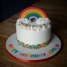 Mini Rainbow Cake | Kingfisher Bakery, Wiltshire, UK