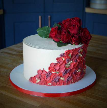 Ruby Wedding Anniversary | Kingfisher Bakery, Wiltshire, UK