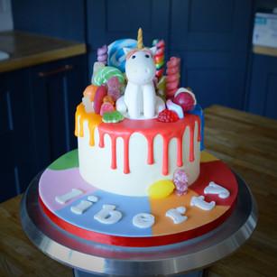 Mini Unicorn Birthday Cake | Kingfisher Bakery, Wiltshire