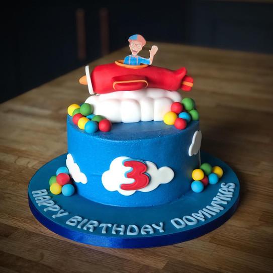 Blippi Birthday Cake | Kingfisher Bakery, Wiltshire, UK