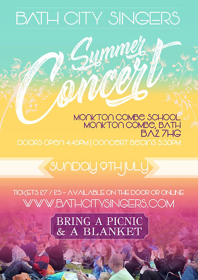 summer concert choir community bath