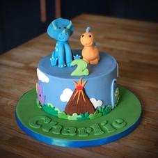 Dinosaur Cake | Kingfisher Bakery, Wiltshire, UK