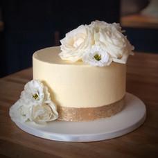 Golden Wedding Anniversary Cake | Kingfisher Bakery, Wiltshire, UK